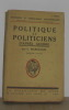 Politique et politiciens d'après guerre. Marcellin L
