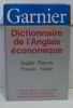 Dictionnaire de l'anglais economique et commercial. Collectif