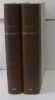 Sainte-beuve sa vie et son temps tomes 1 et 2. BILLY André