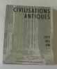 Civilisations antiques  Egypte  Grèce  Rome. Anonyme