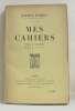 Mes cahiers tome quatrième 1904-1906. Barrès Maurice