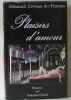 Plaisirs d'amour : Almanach érotique des femmes. Ducout  Françoise