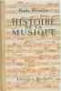 Histoire de la musique. Druilhe Paule