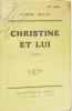 Christine et lui. Mille Pierre