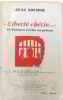 Liberté chérie 13 poèmes écrits en prison. Nocher Jean