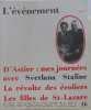 L'événement n°16 : d'astier : mes journées avec svetlana staline - la révolte des écoliers-les filles de St-lazare. D'astier Emmanuel