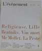 L'événement n°4 : religieuse. Lille . Beatniks. Vin mort . Mr Mollet . La peste. D'astier Emmanuel