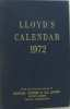 Lloyd's calendar 1972. Collectif