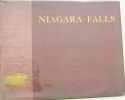 Niagara falls in photo gravure.
