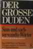 Sinn- und sach- verwandte Wörter (Der Grosse Duden). Wolfgang Müller