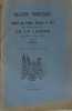 Bulletin trimestriel de la société des lettres sciences et arts du département de la lozère 3me et 4me trimestres 1938. Collectif