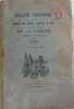 Bulletin trimestriel de la société des lettres sciences et arts du département de la lozère 1er semestre 1946. Collectif