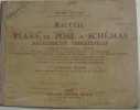 Recueil de plans de pose & schémas d'électricité industrielle. Soulier Alfred
