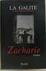 Zacharie. John La Galite