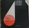 Cahiers theatre louvain 68/69 n° 7-8. Collectif