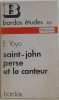 Saint-john perse et le conteur. E Yoyo