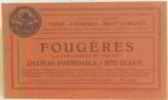 """Fougères """"la carcassonne de l'ouest"""" chateau formidable = site classé. Syndicat De Tourisme Vitré Fougères Mont St Michel"""