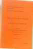 Bulletin analytique d'histoire romaine (tome XII-XIII) 2 1973-1974. Université Des Sciences Humaines De Strasbourg