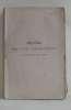 Recueil des actes administratifs de la préfecture de la sarthe faisant suite au mémorial administratif tome LIV année 1874.