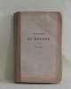 Physiologie du mariage tome I. Balzac