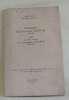 Bibiographie du chanoine clerval (1859-1918) suivie de lettres inédites de monseigneur duchesne (1843-1922) - extrait du bulletin de la société ...
