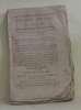 Bulletin des lois n°109 bis code civil titre préliminaire.