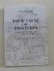 Pour cause de printemps chronique montbéliarde au temps de luther. Frossard Henri  Decrind Paul (illustrations)