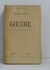 Goethe un homme face à la vie. Fuchs Albert