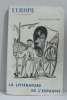 Europe revue mensuelle janvier-février 1958 la littérature de l'espagne.
