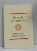 Recueil de poésies. Dominique Martin Morin