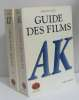 Guide des films (2 vols) tome I AK  tome LZ. Tulard Jean