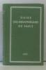Guide des bibliothèques de paris. Leroy Émile
