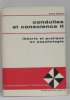 Conduites et conscience II théorie et pratique en psychologie. Zazzo René