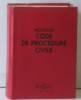 Nouveau code de procedure civile 1995. Collectif