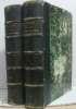 Histoire des romains (2 vols) tome I des origines à la fin de la deuxième guerre punique  tome II de la bataille de zama au premier triumvirat. Duruy ...