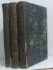Dictionnaire de théologie (3 vols). Bergier L'abbé