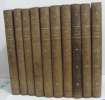 Les chevaliers du lansquenet (10 volumes). Le Marquis De Foudras  De Montépin Xavier