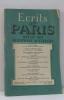 Ecrits de paris revue des questions actuelles janvier 1948 - le pardoxe démocratique  le maréchal en liberté. Dacier Michel  Martin Du Gard Maurice  ...