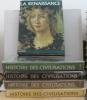 Histoire des civilisations ( 5 vols) le XXe siècle  le grand siècle  les origines de la civilisation occidentale  le siècle des lumières la ...