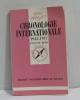 Chronologie internationale 1945-1977 (que sais-je?). Berg Eugène