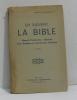 En suivant la bible manuel d'instruction religieuse pour baptême et communion d'adultes. Abbé G. De La Tour Du Pin