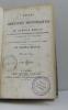 Études ou discours historiques sur la chute de l'empire romain ( 4 vols). M. Le Vicomte De Chateaubriand