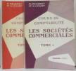 Cours de comptabilité: les sociétés commerciales tome un et deux. Reverdy  Court