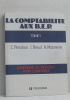 La comptabilité aux bep tome premier. Pérochon C.  Breuil J.  Malaterre A