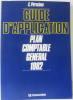 Guide d'application  plan comptable général 1982. Pérochon
