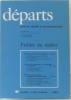 Départs  livre de lecture et de français CM1 - Fichier du Maître. Eyraud  Combelles