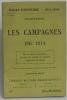 Les campagnes de 1914. Champaubert