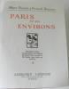 Paris et ses environs  32 fascicules  complet. Larousse