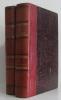 Éléments de botanique (deux volumes) tome premier botanique générale  tome deuxième. Ph. Van Tieghem