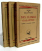 Des dames galantes. coll. Génie de la France. complet en 3 petits volumes. Brantome
